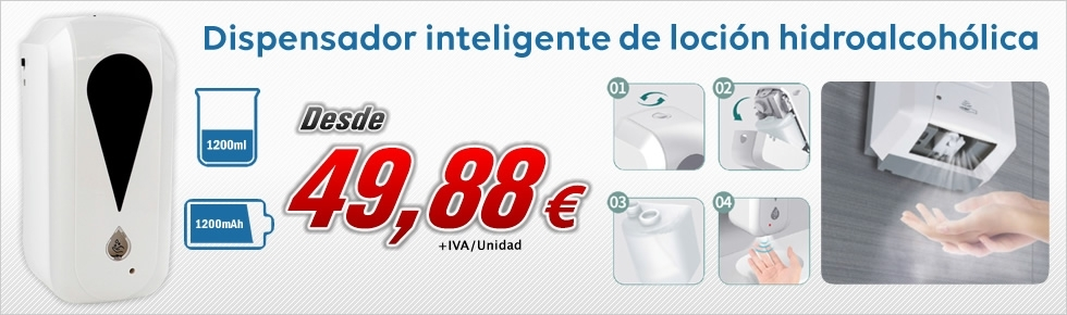 Oferta en Dispensador Inteligente Banner