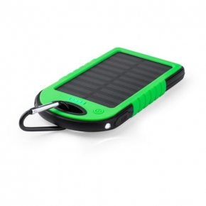 Power Bank Solar 4000 mAh con Linterna Led