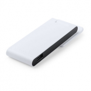 Power Bank de 4000 mAh con soporte giratorio de ventosas