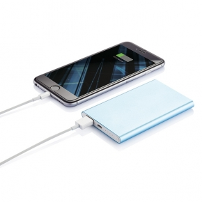 Power Bank de Aluminio Ultrafina 4000 mAh