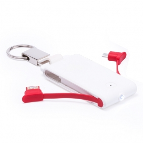 Llavero Power Bank con luz LED
